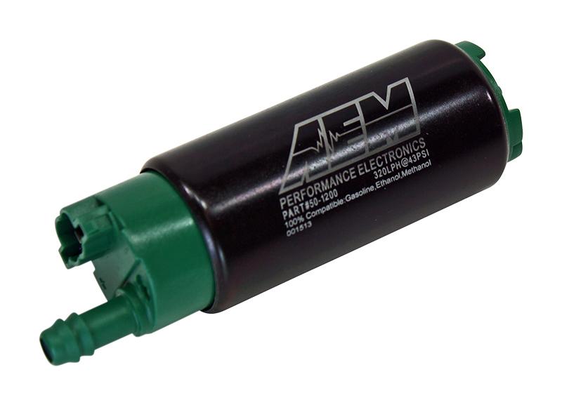 Offset Inlet /& Installation Kit AEM E85 320LPH High Flow In-Tank Fuel Pump