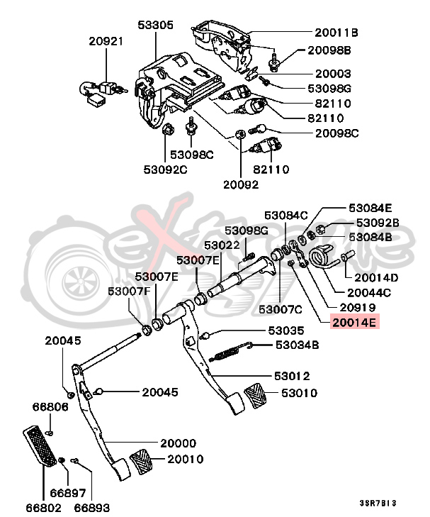 2002 mitsubishi engine diagram clutch