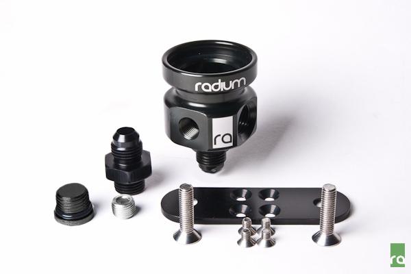Radium For Fuel Pressure Regulator Adapter EVO X//Subaru//2JZ 14-0125