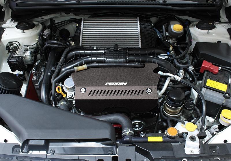 Perrin Performance Engine Pulley Cover Subaru Wrx 2017 31650