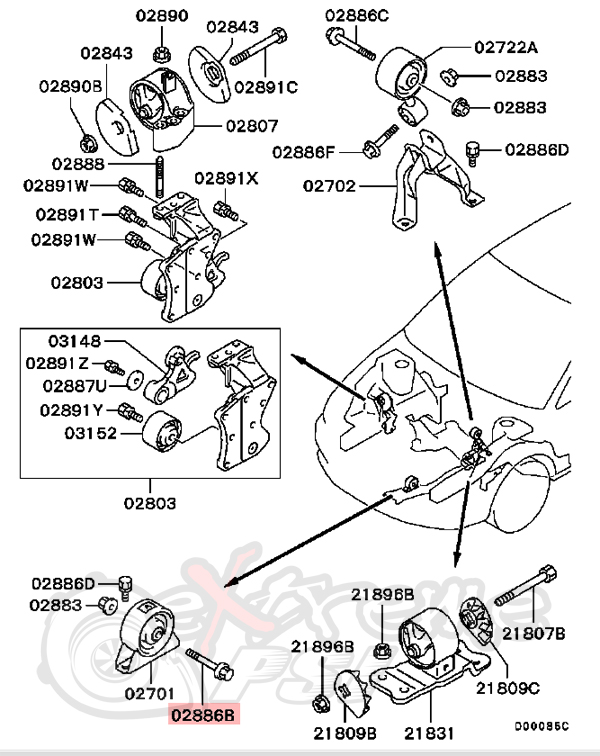 Evo 8 Engine Diagram