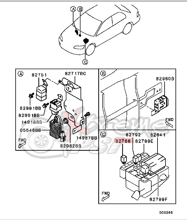 2009 Ford Focus Starter Relay Location