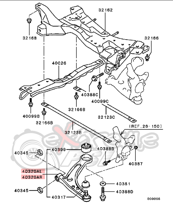 1994 Mustang Front Suspension Diagram