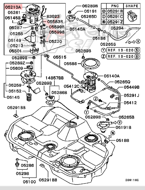 Evo 8 Fuel Tank Diagram Also With Evo 8 Engine Diagram Extreme Psi
