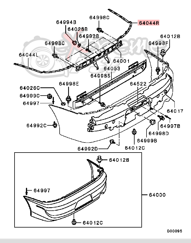 Acura Integra Rear Bumper Diagram Electrical Work Wiring Diagram