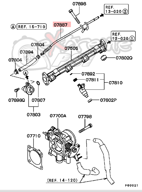 Evo 8 Fuel Tank Diagram