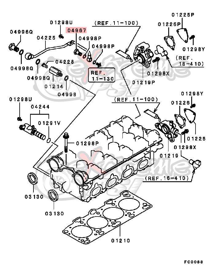 G37 Bolt Valve Body Diagram