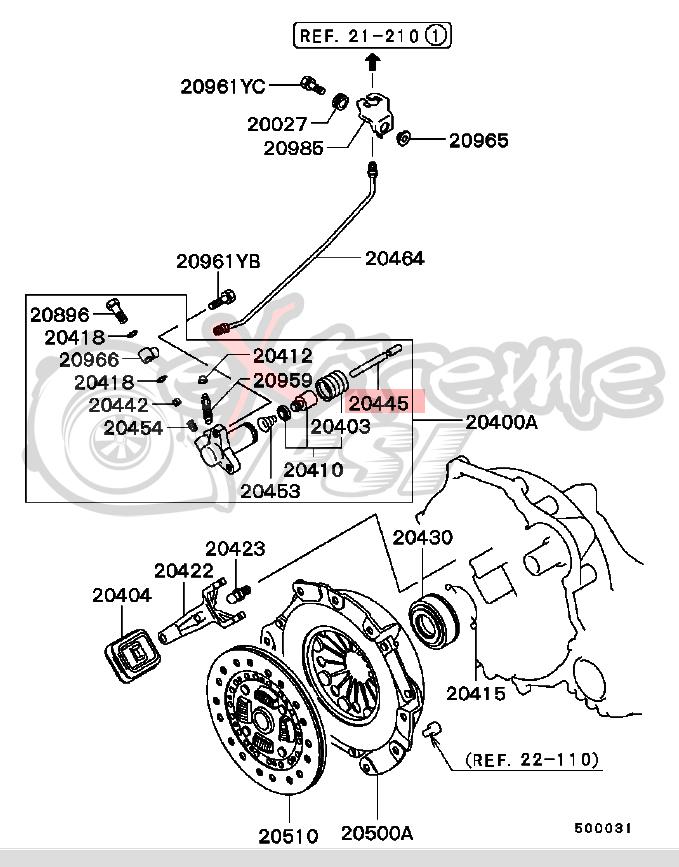 srt4 clutch diagram