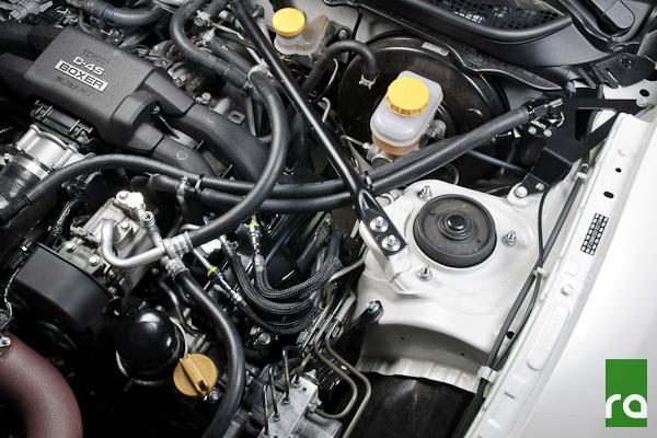 Radium Engineering Crankcase Line Catch Can Kit for 2013 Subaru BRZ Scion FR-S