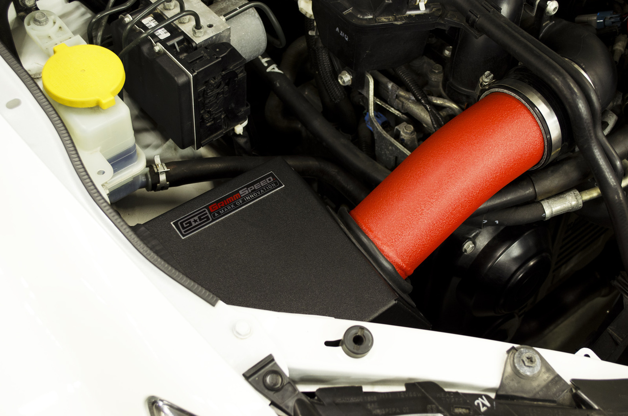 """for 2002-2007 WRX STi Forester XT Red /""""IN STOCK/"""" Perrin Short Ram Air Intake"""
