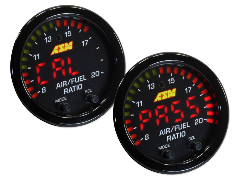 AEM Digital Wideband O2 UEGO AFR Air Fuel Ratio Gauge Kit without SENSOR