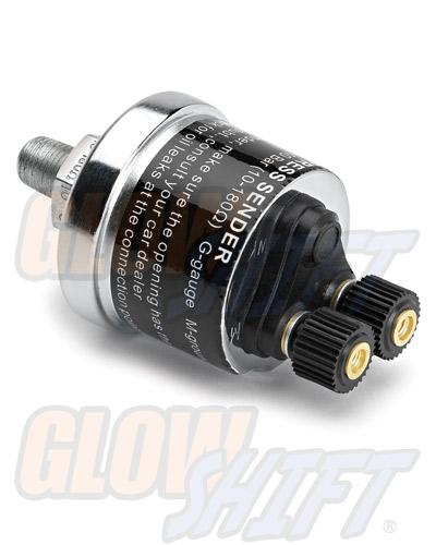 Glow Shift Replacement 0-100 PSI Fuel Pressure Sensor
