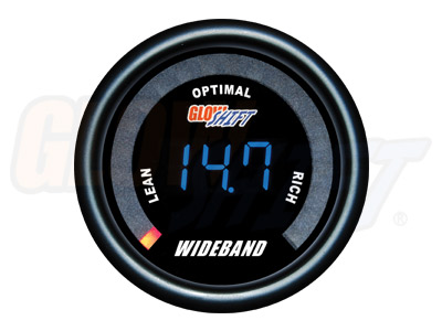 Glow Shift Black 7 Color Series Digital Wideband Air/Fuel Gauge