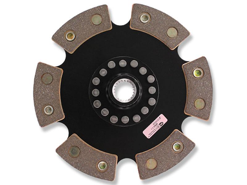 ACT Solid 6-Puck Race Disc: 03-12 Nissan/Infiniti 350Z/370Z/G35/G37 VQ35/VQ35HR/VQ37VHR