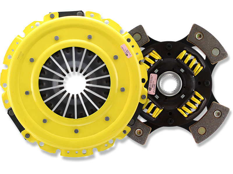 ACT MaXX Xtreme Sprung 4-Puck Clutch Kit (w/ OEM Release Bearing): Mitsubishi Eclipse 90-99