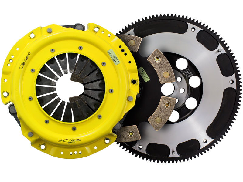 ACT Xtreme 6-Puck Clutch Kit w/ Streetlite Flywheel (13.4lbs): 13+ Scion FRS & Subaru BRZ 2.0L 6-Speed