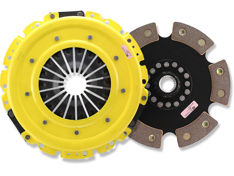 ACT Heavy Duty 6-Puck Clutch Kit w/ Prolite Flywheel (10.6lbs): 13+ Scion FRS & Subaru BRZ 2.0L 6-Speed