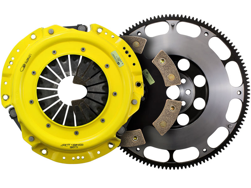 ACT Xtreme 6-Puck Clutch Kit w/ Prolite Flywheel (10.6lbs): 13+ Scion FRS & Subaru BRZ 2.0L 6-Speed
