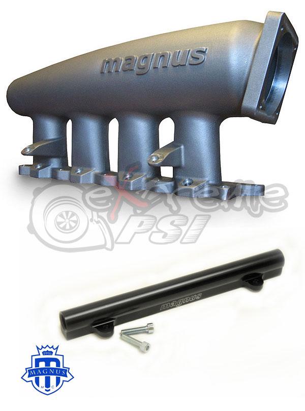 Magnus V5 Cast Intake Manifold + FREE Magnus Fuel Rail Upgrade: Mitsububishi EVO IV to IX