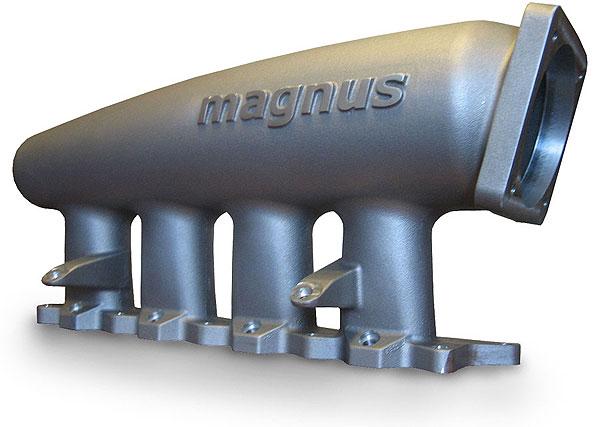 Magnus V5 Cast Aluminum Intake Manifold: Mitsububishi EVO IV to IX