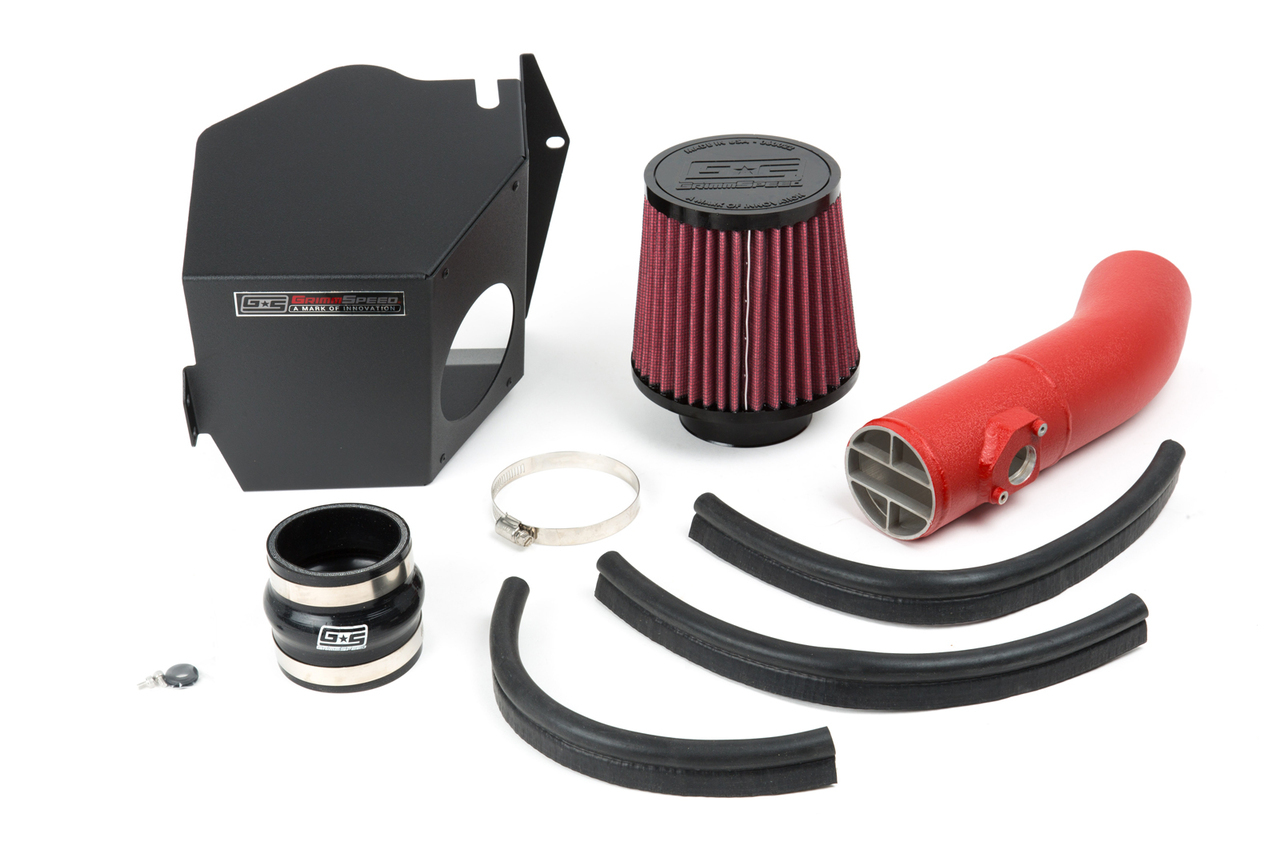 GrimmSpeed Cold Air Intake: Subaru 08-14 WRX/STi/ 09-13 Forester XT