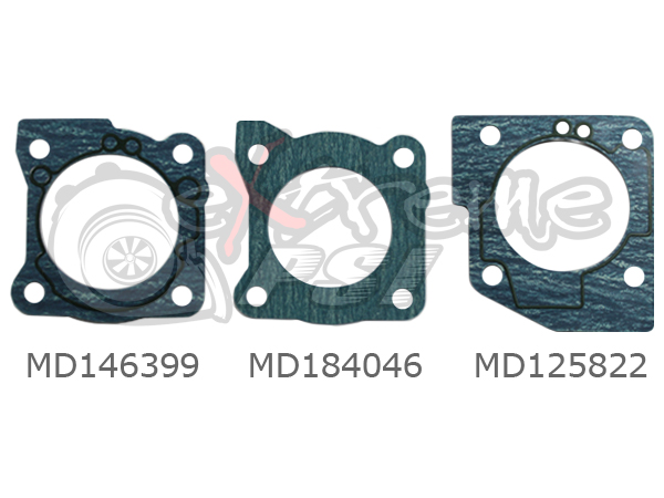 OEM Throttle Body to Intake Manifold Gasket : Mitsubishi Eclipse 90-99