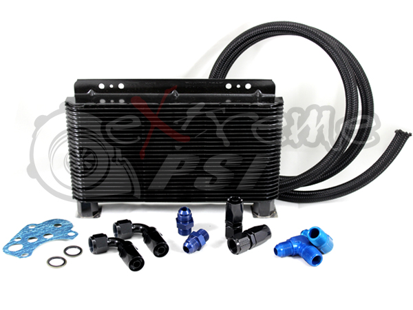 Extreme PSI Oil Cooler Kit: Mitsubishi EVO 8/9