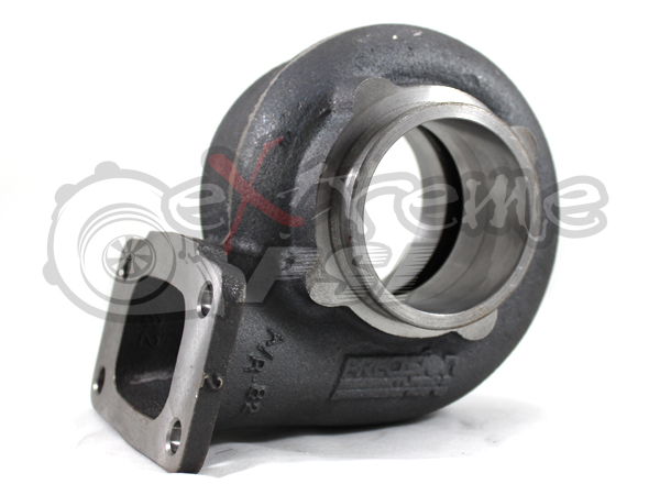 """Precision T & E T3 Inlet with 3"""" V-Band Discharge Turbine Housing : 58mm Turbine Wheel"""