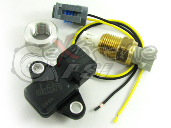 Speed Density Bundle Kit - Mitsu-style MAP, IAT, pigtails and bung: 2G DSM or EVO