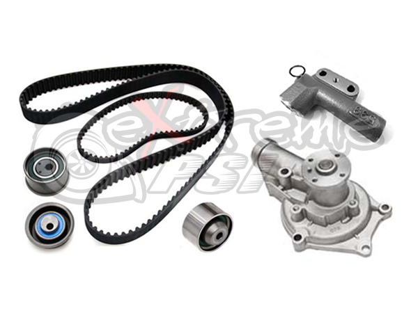 Gates Economy Complete Timing Belt Kit with Water Pump: Mitsubishi Evolution VIII 2003-2005