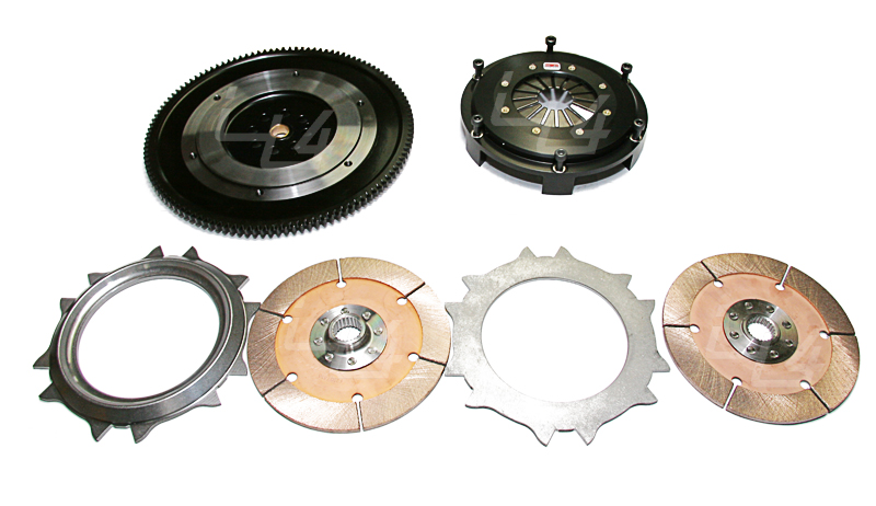 Competition Clutch Replacement Triple Disc 7/8 x 20T: Mitsubishi Eclipse 90-99 (Set of 3)