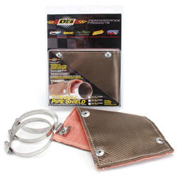 DEI Titanium Pipe Shield - Exhaust Heat Shield