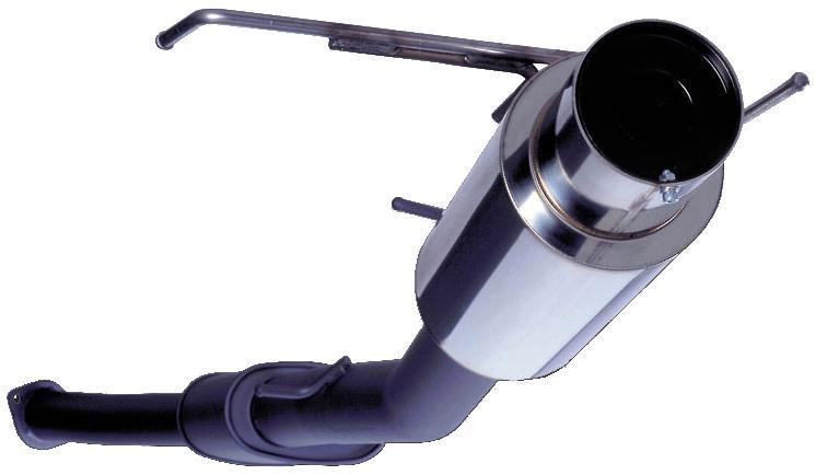 Apexi N1 Cat-back Exhaust : Mitsubishi Eclipse GS 95-99 (Non Turbo)