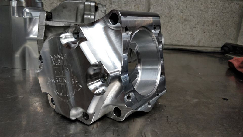 Magnus 7075 Billet DSM Transfer Case Housing