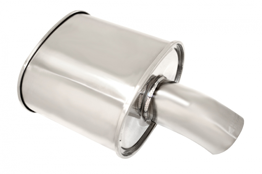"Megan Racing M-MFG Muffler: 2.50"" Inlet"
