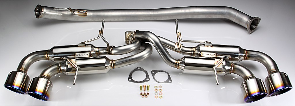 APEX'i RS Evolution Extreme (RSX) Cat-back Exhaust : Nissan GT-R 2008-2013