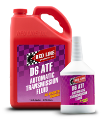 Redline Synthetic Automatic Transmission Fluid : D6 ATF