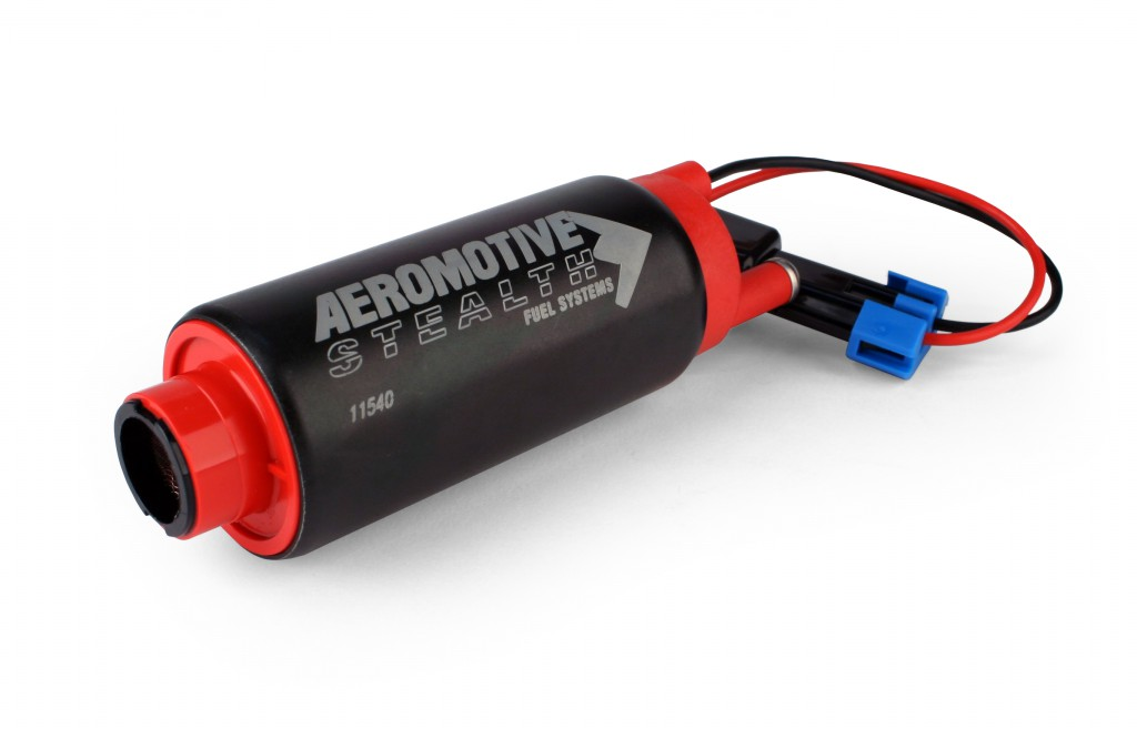 Aeromotive 340 LPH E85 Stealth Fuel Pump: Center Inlet