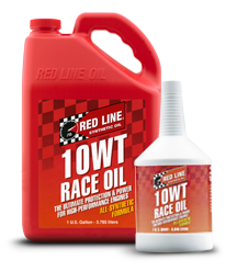 Redline Synthetic Drag Race Oil : 10WT (0W10)