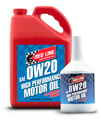 Redline Synthetic Motor Oil : 0W20
