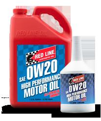 Redline Synthetic Motor Oil : 0W20