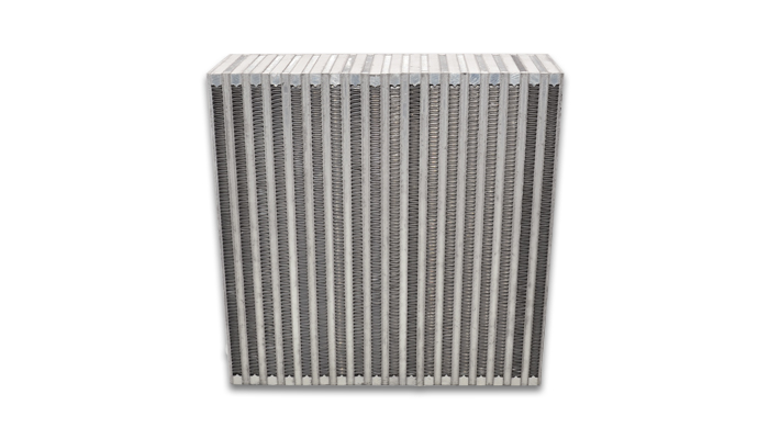 """Vibrant Performance Vertical Intercooler Core Only: 12"""" Wide x 12"""" High x 3.5"""" Thick"""