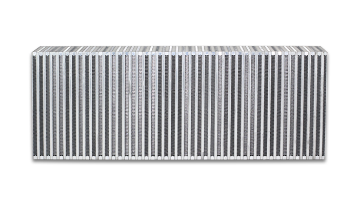 """Vibrant Performance Vertical Intercooler Core Only: 30"""" Wide x 10"""" High x 3.5"""" Thick"""