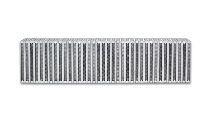 """Vibrant Performance Vertical Intercooler Core Only: 27"""" Wide x 6"""" High x 4.5"""" Thick"""