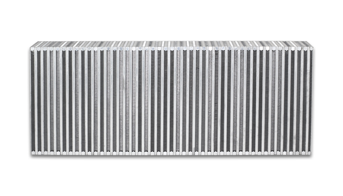 """Vibrant Performance Vertical Intercooler Core Only: 30"""" Wide x 12"""" High x 4.5"""" Thick"""