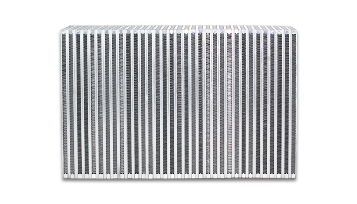 """Vibrant Performance Vertical Intercooler Core Only: 18"""" Wide x 6"""" High x 3.5"""" Thick"""