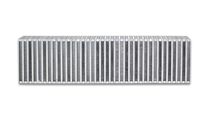 """Vibrant Performance Vertical Intercooler Core Only: 24"""" Wide x 6"""" High x 3.5"""" Thick"""