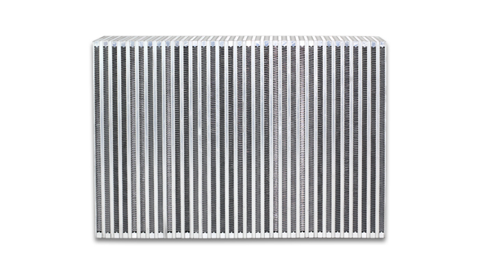 """Vibrant Performance Vertical Intercooler Core Only: 12"""" Wide x 8"""" High x 3.5"""" Thick"""