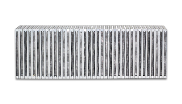 """Vibrant Performance Vertical Intercooler Core Only: 24"""" Wide x 8"""" High x 3.5"""" Thick"""