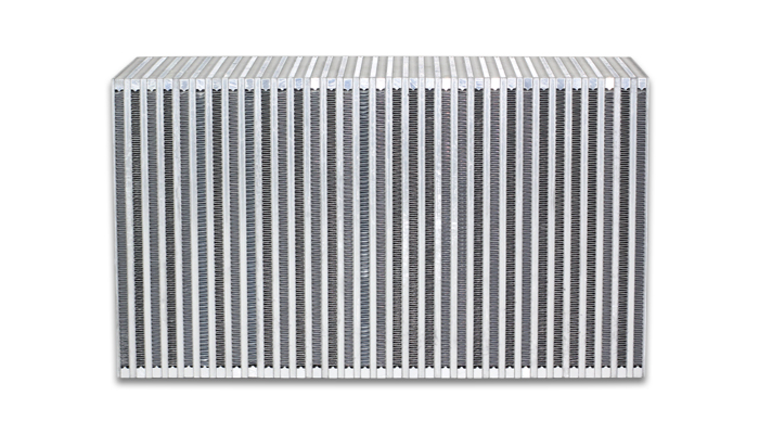 """Vibrant Performance Vertical Intercooler Core Only: 18"""" Wide x 12"""" High x 6"""" Thick"""